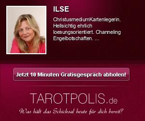 Ilse Küppers - Aufgestiegener Meister - Lenormandkarten - Jenseitskontakte - Beruf & Lebensplanung - Engelkarten